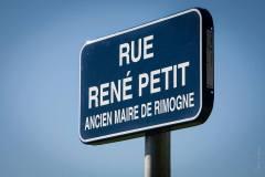 Inauguration rue Petit
