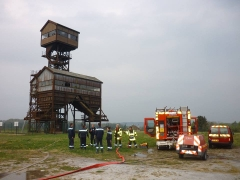 Manoeuvre des pompiers