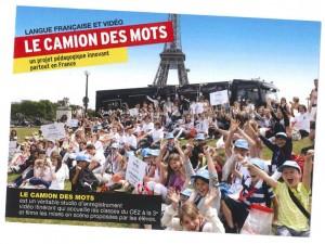 Camion des mots Paris