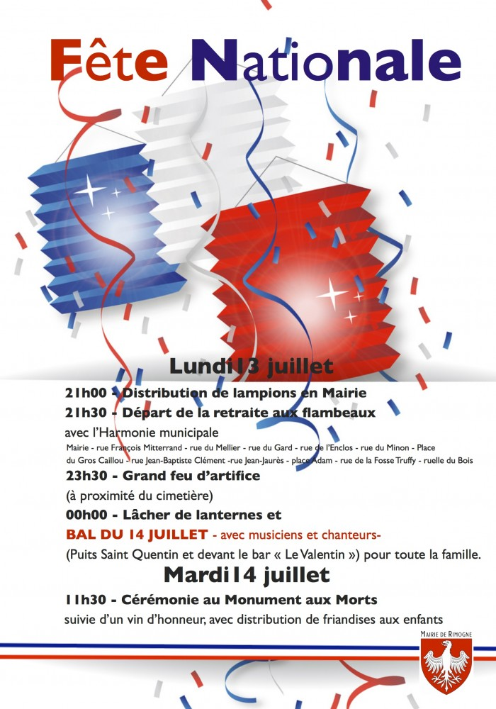 Affiche  fête nationale 2015-1