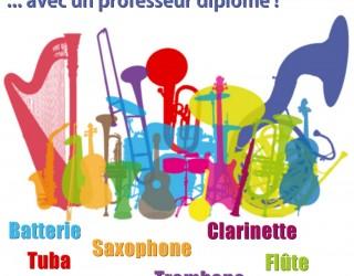 Ouverture de l'école de musique de l'Harmonie municipale