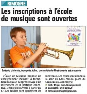inscriptionecolemusique