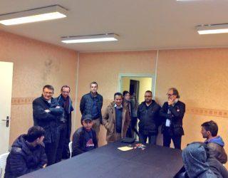 Arrivée de neuf migrants à Rimogne