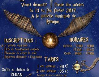 INSCRIPTION AU CENTRE DE LOISIRS POUR LES VACANCES D'HIVER.