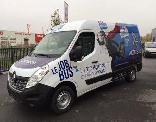 Job Bus, l'intérim mobile à Rimogne