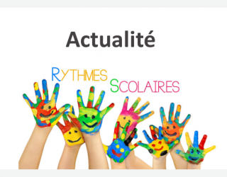 Rythmes scolaires 2017/2018