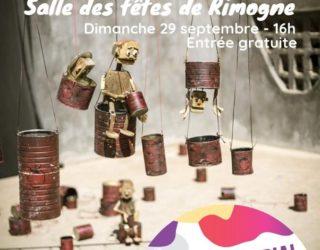 Le Festival international des théâtres de marionnettes à Rimogne.