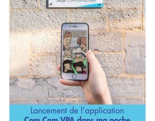 Lancement de l'application Com Com VPA