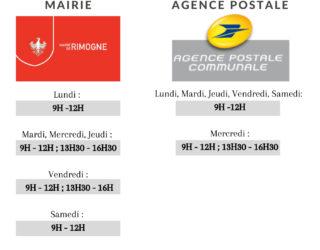 C'est la rentrée, les horaires de la Mairie et de l'Agence Postale s'adaptent à vos besoins.