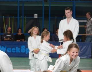 Le judo au chaud
