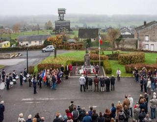 11 Novembre : une foule nombreuse pour la commémoration