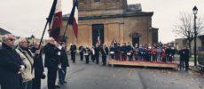 Commémoration du centenaire de l'armistice de 1918 à Rimogne