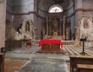 L'église est dotée de nouveaux éclairages