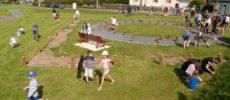 Grande chasse aux oeufs dans le nouveau Parc du Puits Saint-Quentin
