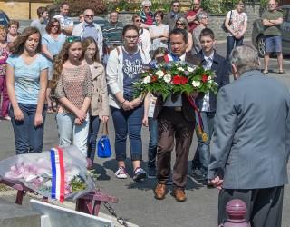 Une commémoration du 8 mai 1945 en présence de jeunes allemands et français