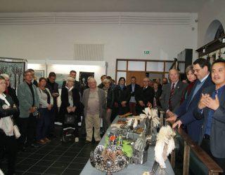 VERNISSAGE de L'EXPOSITION des OEUVRES DU GALA et de JACKY FONTAINE à la MAISON de l'ARDOISE.