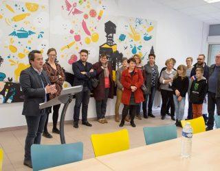 Inauguration du nouveau self scolaire de Rimogne