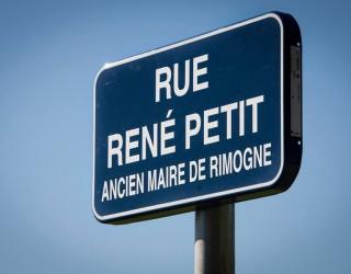 INAUGURATION DE LA RUE RENE PETIT